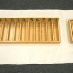 Hướng dẫn sử dụng sản phẩm Spindle Boxes trong Montessori