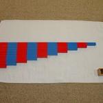 """Học phép tính trừ với """"Gậy số"""" (Numerical Rods)"""
