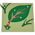 giáo cụ montessori leaf puzzle & hướng dẫn sử dụng