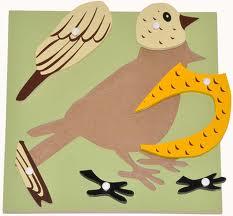 Giáo cụ Montessori BIRD PUZZLE & Hướng dẫn sử dụng